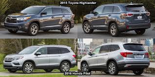 compare honda pilot and ford explorer pilot vs highlander 2018 2019 car release and reviews
