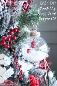 simple diy christmas ornaments the happy housie
