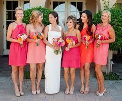 bridesmaid dresses u2014 they don u0027t have to be the same u2013 las vegas