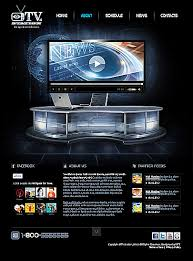 tv station html5 website template price 29 website templates