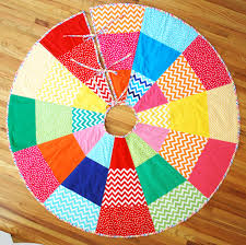 christmas cheer tree skirt rainbow bundle fabric giveaway