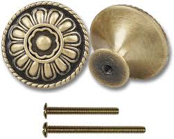 where to buy antique cabinet pulls 9 pack of antique brass kitchen cabinet knobs pull vintage drawer and dresser handles knobs antique gold knobs with floral for rustic touch