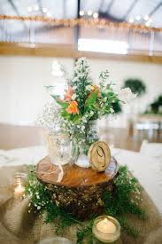 marvellous country wedding centerpieces 12 country wedding wood