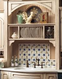 Kitchen Cabinet Plate Rack by Kitchen Cabinets That Are Bothtown U0026 Country Plain U0026 Fancy Cabinetry