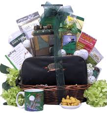 amazon com great arrivals golf gift basket hole in one