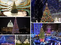 Christmas Light Ideas Indoor by The 10 Most Amazing Christmas Trees In The U S