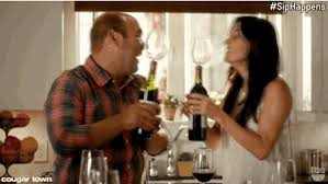 Cougar Town Memes - 15 funny wine gifs memes