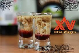 halloween coffee drinks krwawy mózg drink odc specjalny na halloween xtravirgintv