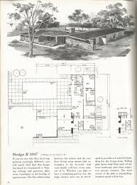 vintage house plans 2000 square foot homes mid century homes
