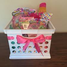 baskets for kids shopkins gift basket diy shopkins gift and easter