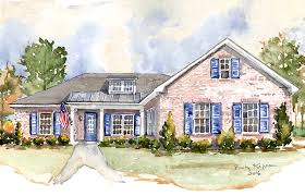 French Cottage Homes by French Country House Plans Southern Living House Plans