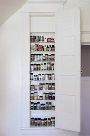 Narrow Spice Cabinet Best 25 Kitchen Spice Rack Design Ideas On Pinterest Storage