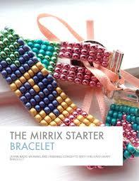 beaded heart bracelet images Heart bracelet mirrix tapestry bead looms png