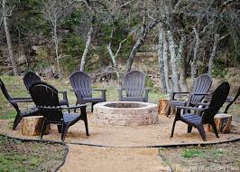 Firepit Backyard How To Build A Firepit For Your Outdoor Space Scattered Thoughts