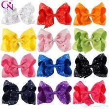 rhinestone hair 5 inch jojo hair bow rhinestone hair clip diamante hair bow for