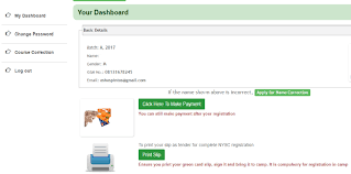 generate remita for nysc payment make payment on nysc portal via