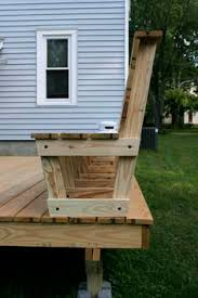 how to build deck bench seating how to build benches on a deck click on an image to see a larger