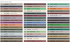 u s paint color preferences u2013 by state best online cabinets