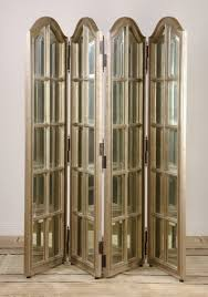 Mirror Room Divider Double Sided Beveled Mirror Room Divider