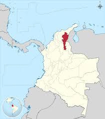 Columbia South America Map Cesar Department Wikipedia