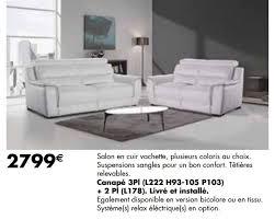 lambermont canapé meubles lambermont promotion canapé 3pl 2 pl produit maison