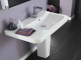 Modern Pedestal Sinks Commonly And Unique Bathroom Pedestal Sink The New Way Home Decor