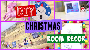 diy christmas room decor pinterest inspired youtube