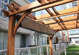 cedar pergola u0026 canopy bz810wrc outdoor living today sale