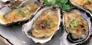 comment cuisiner des huitres huîtres sur lit de compote d oignons au gingembre recette sur