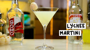lychee liqueur lychee martini youtube