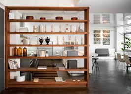 Oak Room Divider Shelves Best 25 Room Divider Bookcase Ideas On Pinterest Apartment Open