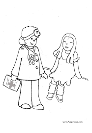 coloring pages puppetonia