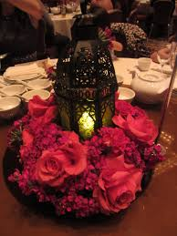 Wedding Centerpiece Lantern by Wedding Centerpiece Lantern With Flowers Cousin U0027s Wedding