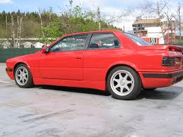 1990 maserati biturbo maserati racing register 1991 92