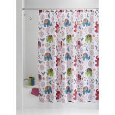 Palm Tree Shower Curtain Walmart by Bohemian Shower Curtain Walmart Metallic Ikat Dot Shower Curtain