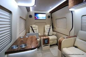 luxury custom mercedes benz sprinter mobile office vans
