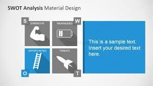 opportunities factors highlight swot analysis template slidemodel