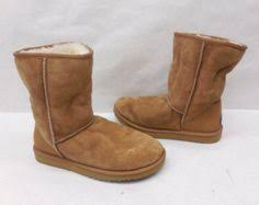 womens shearling boots size 11 ugg womens 304 triplet bailey button bomber sheepskin