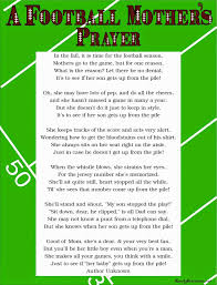 Flag Football Running Plays A Football Mother U0027s Prayer Poem Free Printable Prayer Poems