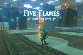 zelda breath of the wild rucco maag shrine puzzle soltuions