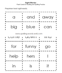 free worksheets spelling sight words worksheets free math