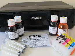 edible photo edible image printer canon ip7250 a4 includes refillable edible ink
