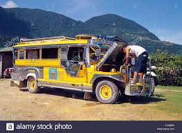 philippines jeepney vector mini bus created from a jeepney one of the old jeeps left behind