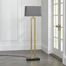 Yasmin Floor Lamp Chic Floor Lamps To Brighten Your Home Crate And Barrel