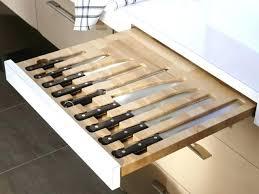 organisateur tiroir cuisine organisateur tiroir cuisine un rangement pour les couteaux de