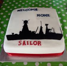 royal navy welcome home cake type45cake hmsdefendercake