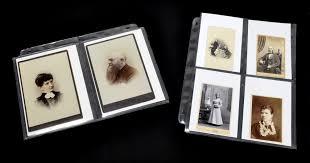 5 by 7 photo album cabinet cards carte de visite archivally preserve your photographs