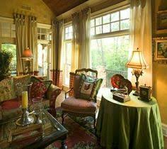 Traditional Family Room French Country Living Room Design - Family room in french