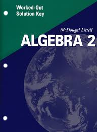 amazon com algebra 2 worked out solution key 2001 9780618020249