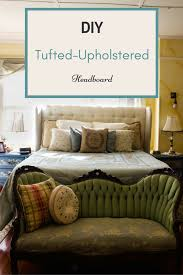 Tufted Upholstered Headboard Diy Tufted Upholstered Headboard